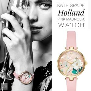 Kate Spade Holland Pink Magnolia Watch